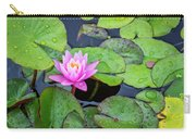 4434- Lily Pads Carry-all Pouch
