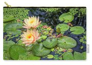 4445- Lily Pads Carry-all Pouch