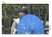 4479- Girl With Umbrella Carry-all Pouch