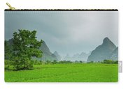 The Beautiful Karst Rural Scenery Carry-all Pouch