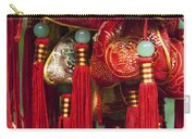 4647- Chinese Tassels Carry-all Pouch