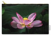 Blossoming Lotus Flower Closeup Carry-all Pouch