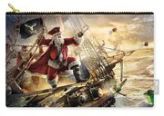 47752 Funny Santa Claus Christmas Pirate Santa Carry-all Pouch
