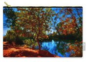Landscape Paintings Canvas Prints Carry-all Pouch
