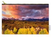 Original Landscape Painting Carry-all Pouch