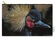 49- West African Crowned Crane Carry-all Pouch