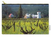 4b6394 Mustard In The Vineyards Carry-all Pouch