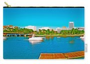4x1 Downtown Tampa Panorama Carry-all Pouch