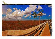 4x1 Everglades Panorama Number Two Carry-all Pouch