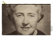 Agatha Christie 2 Carry-all Pouch