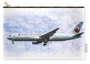 Air Canada Boeing 777 Art Carry-all Pouch