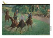 At The Races Carry-all Pouch