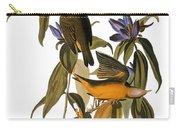 Audubon: Warbler, (1827-38) Carry-all Pouch by Granger