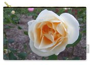Australia - White Rose Flower Carry-all Pouch