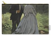 Bazille And Camille Carry-all Pouch