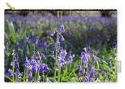 Bluebells Near Effingham In The Surrey Hills England Uk Carry-all Pouch