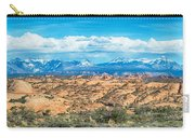 Canyon Badlands And Colorado Rockies Lanadscape Carry-all Pouch