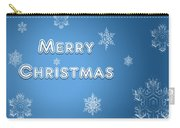 Christmas Card Carry-all Pouch