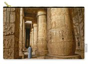 Colonnade In An Egyptian Temple Carry-all Pouch