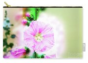 Common Hollyhock  Carry-all Pouch