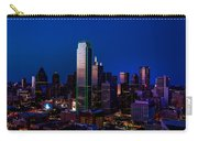 Dallas At Dusk Carry-all Pouch