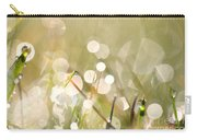 Dew In Grasses Carry-all Pouch