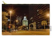 Downtown Tampa Florida Skyline At Night Carry-all Pouch