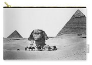 Egypt: Great Sphinx Carry-all Pouch