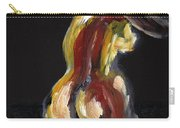 Fat Nude Woman  Carry-all Pouch