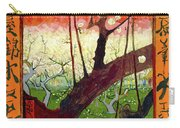 Flowering Plum Tree Carry-all Pouch