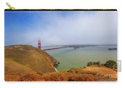 Golden Gate Bridge Vista Point Carry-all Pouch
