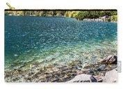 Green Water Mountain Lake Morskie Oko, Tatra Mountains, Poland Carry-all Pouch