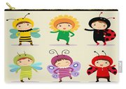 Happy Children  Carry-all Pouch