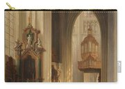 Interior View Of Namur Cathedral Carry-all Pouch