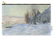 Lavacourt Under Snow Carry-all Pouch