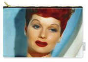 Lucille Ball, Vintage Actress Carry-all Pouch