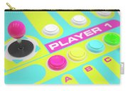Luminous Arcade Control Panel  Carry-all Pouch