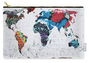 Map Of The World Carry-all Pouch