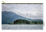 Mountain Range Scenes In June Around Juneau Alaska Carry-all Pouch