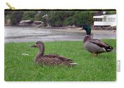 New Zealand - Mallard Ducks On The Grass Carry-all Pouch