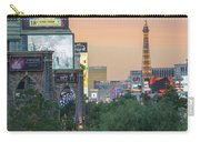 november 2017 Las Vegas, Nevada - evening shot of eiffel tower a Carry-all Pouch