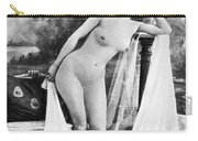 Nude Posing, C1900 Carry-all Pouch