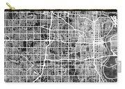 Omaha Nebraska City Map Carry-all Pouch