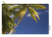 Polynesian Beach With Palms Carry-all Pouch