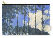 Poplars On The Epte Carry-all Pouch