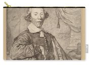 Portrait Of A Seated Man Carry-all Pouch