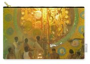 Priest Praying To Goddess Durga Durga Puja Festival Kolkata India Carry-all Pouch