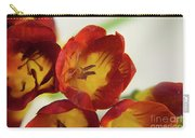 Red Freesia Carry-all Pouch