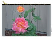 5 Roses In Rain Carry-all Pouch