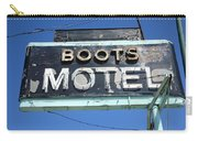 Route 66 - Boots Motel Carry-all Pouch